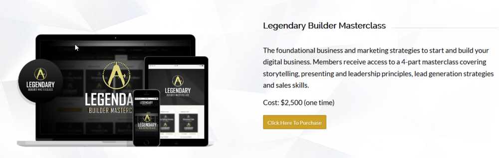 Legendary Marketer Review Affiliate Marketing High Ticket Products Masterclass 2500   Source