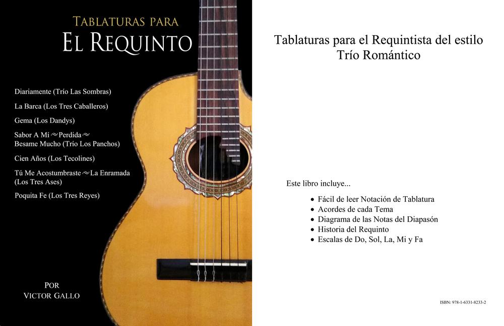 Book/Libro: Tablaturas Para El Requinto — The Requinto Chord Books