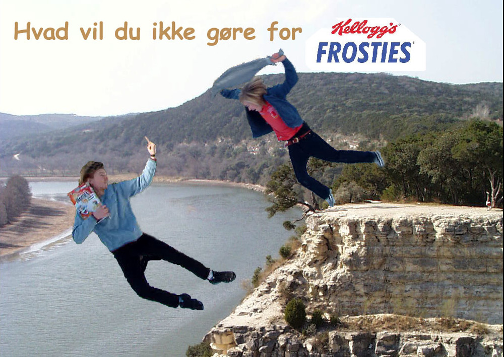"COPY: ""What wouldn't you do for Kellogg's Frosties"""