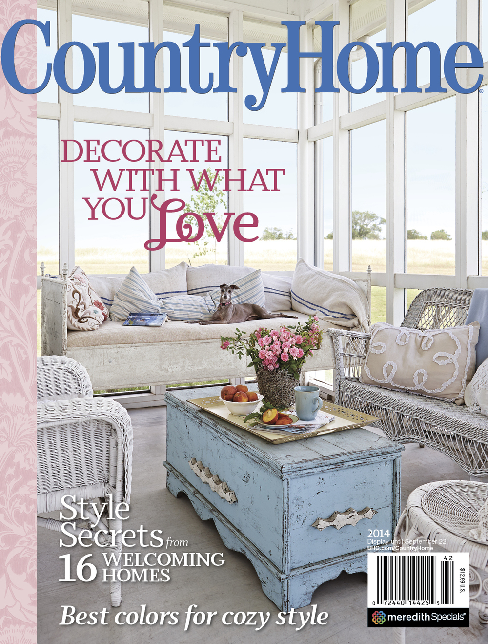 Country Home 2014 Cover