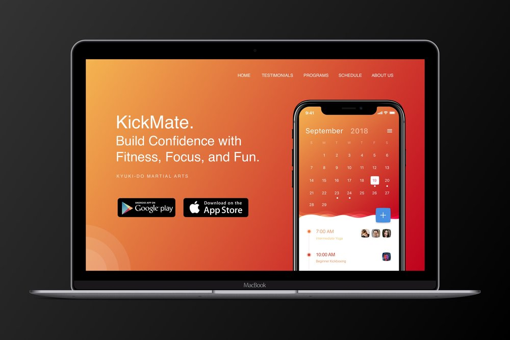 KickMate - Empowering the experience of learning through family, fitness, and fun.