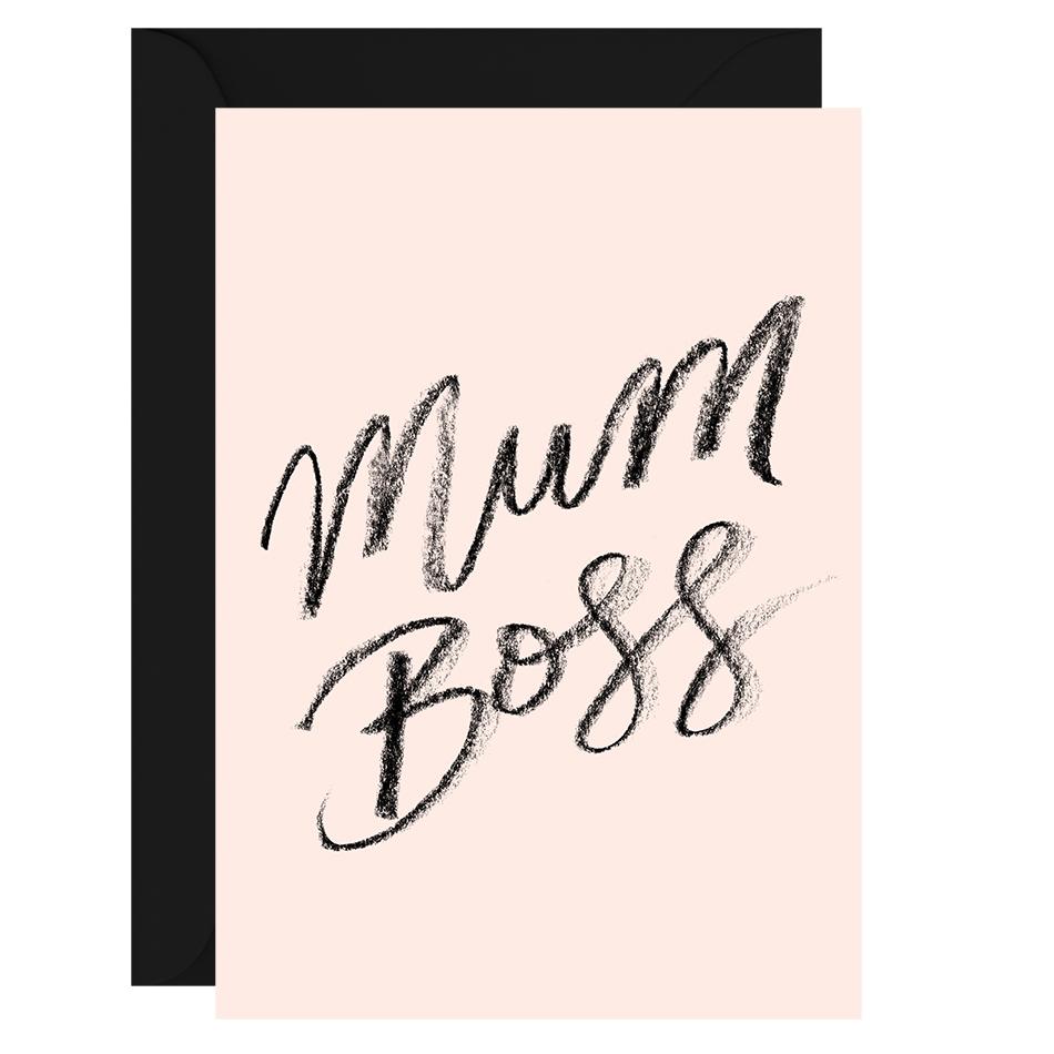 Mum boss greeting card galina dixon boutique stationery mum boss greeting card m4hsunfo