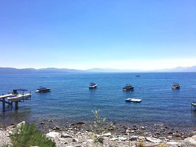 Tahoe today. #laketahoe #hydereunion2016