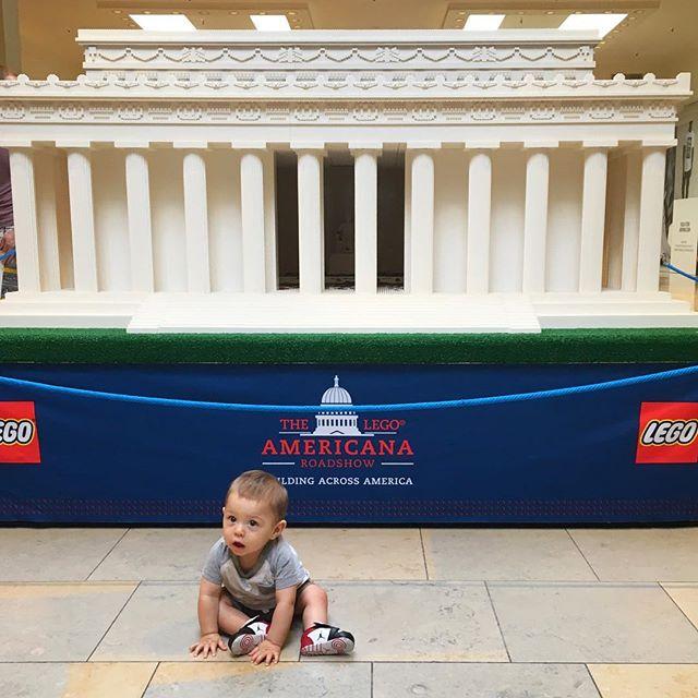 Lincoln at the [Lego] Lincoln #legoamericana
