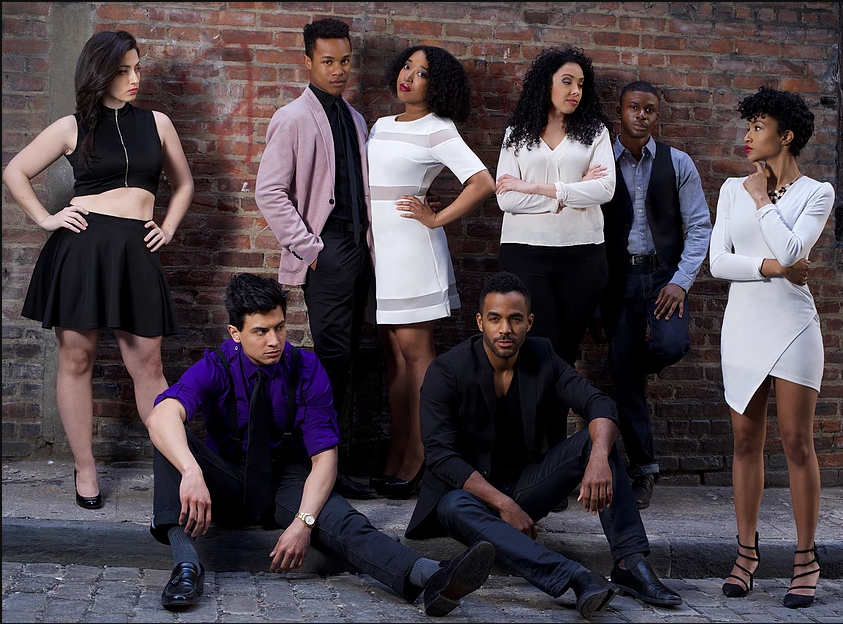 The cast of   Situationships  .