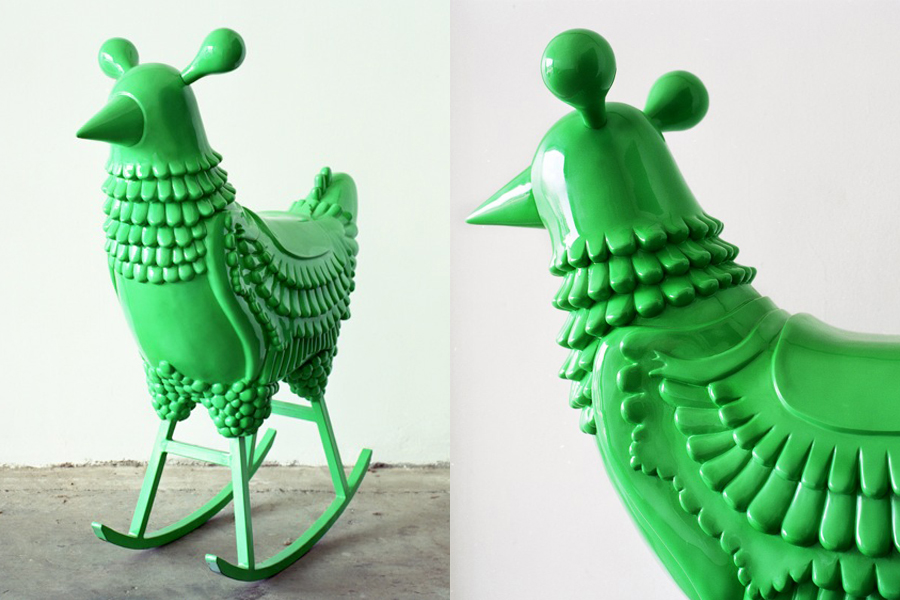 Green Chicken.