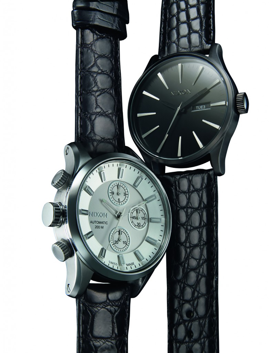 The Automatic II. Chronograph. Barneys New York LTD. Holiday 2012.