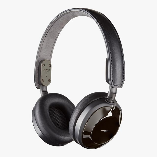 1 of 3. @shinolaaudio Canfield On Ear Headphones w the crew. Anh you crazy. Sup bobois. Happy to be a common thread through all the @astrostudios x @shinola work. #shinola #shinolaaudio #shinolaheadphones #minimalmovement #design #industrialdesign #productdesign #detroit #astro #astrostudios #allblack #blackout
