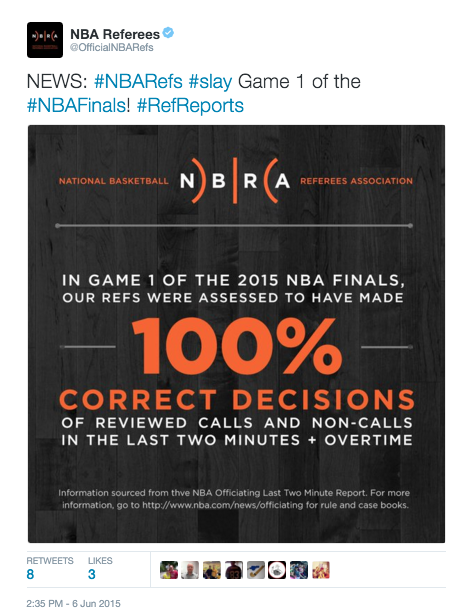 NBA+Referees+on+Twitter+++NEWS+++NBARefs++slay+Game+1+of+the++NBAFinals+++RefReports+http+++t.co+aEAz18ImfS+.png