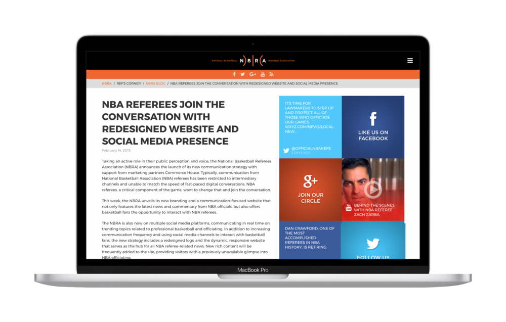 NBA Referees Join the Conversation with Redesigned Website and Social Media Presence   NBRA-Macbook Pro 2016.png
