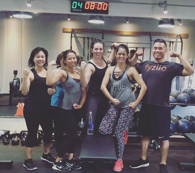 Join us in Cross Training Class! Never have a boring workout again. #fyziio #fitness #crosstraining #grouptraining #hiit #highintensityintervaltraining #igfit #fitfam #oc #orangecounty #irvine #tustin #costamesa #newport