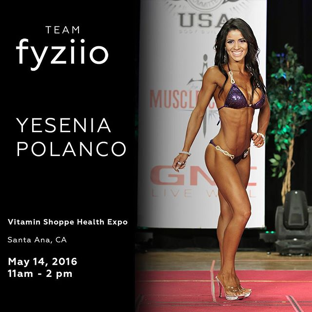 Come meet Team Fyziio Athlete @yesipol at the Vitamin Shoppe Health Expo. Say hi, take pictures, ask questions. She'll be talking about how #fyziiolife customized nutrition and training programs helped her get in the best shape of her life.  Location: Vitamin Shoppe  3929 S Bristol St, Santa Ana, CA 92704  #fyziio #fyziiolife #fyziioathlete #teamfyziio #nutrition #training #health #fitness #igfit #bikinicompetitor #npc #npcbikini #fitgirls #fitspiration #fitfam #booty #squats #onlinetraining #oc #orangecounty #irvine #costamesa #tustin #newport #santaana #vitaminshoppe #healthexpo