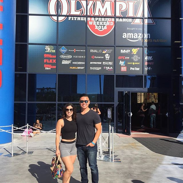 We had a blast at the Olympia this past weekend!  #teamfyziio #fyziio #fyziiolife #fitness #bodybuilding #olympia #vegas