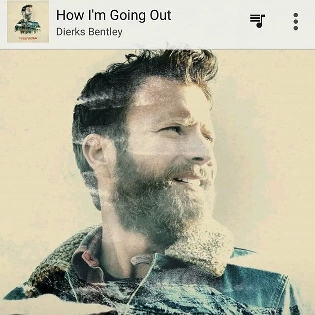 It's rare for a song to stop me dead in my tracks these days and bring me to tears. Thank you @dierksbentley for this gem. #howimgoingout #themountain