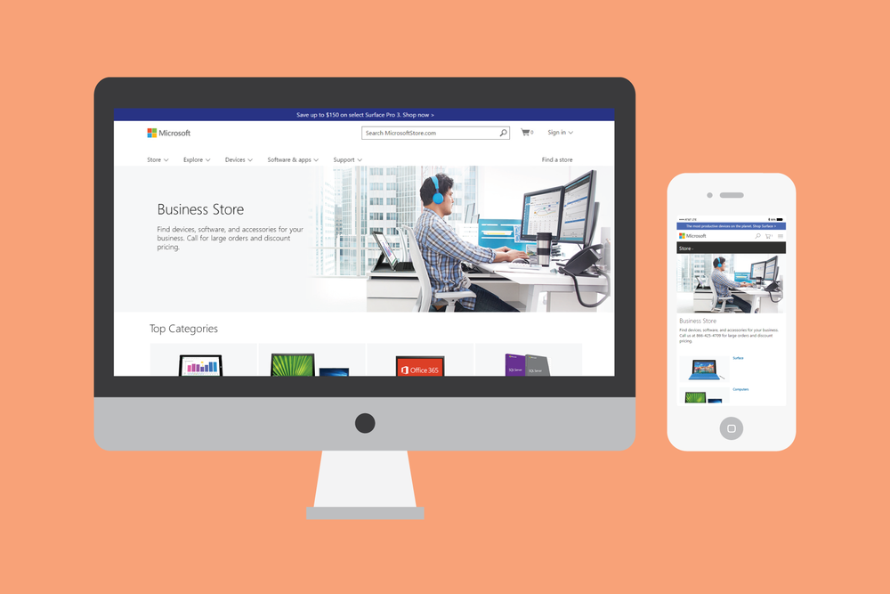 UX Design | Business caterogry |Microsoft