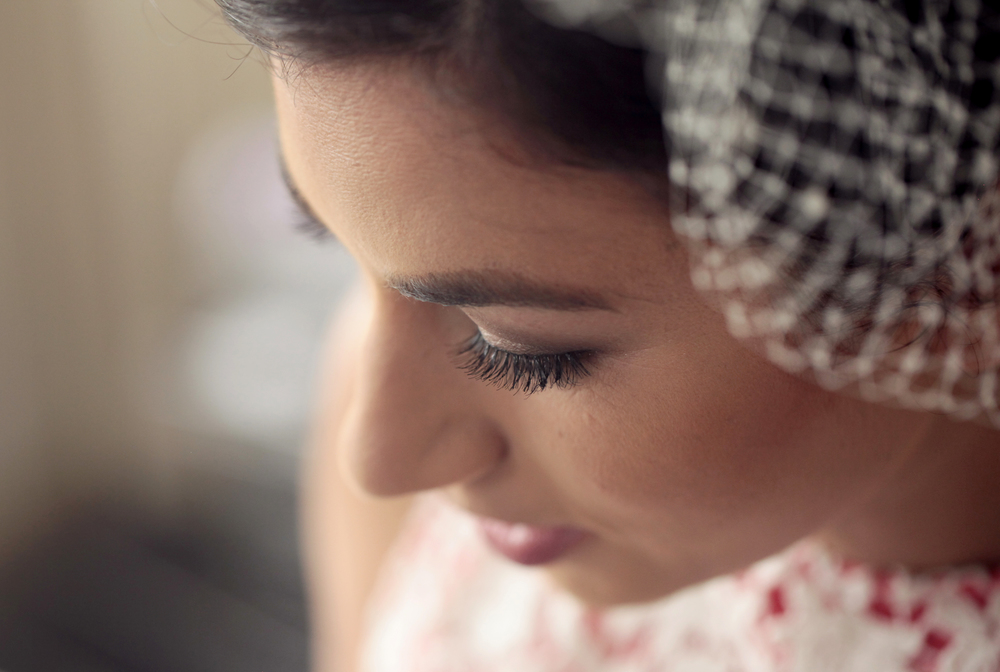 Stunning bride to be