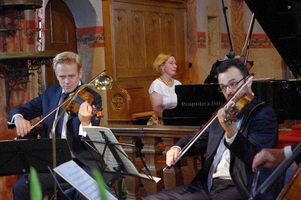 v.l. Guido Gärtner, Margarita Höhenrieder, Adrian Mustea Foto: Monika Dittmar