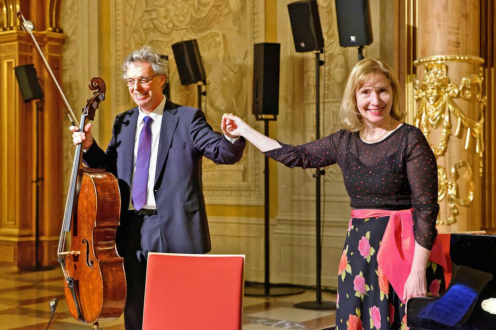 Julius Berger und Margarita Höhenrieder Foto: Klaus Satzinger-Viel