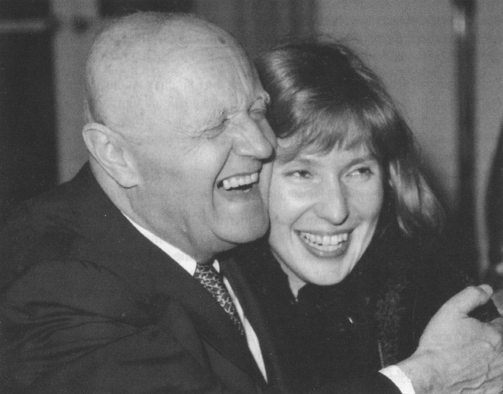 Harald Genzmer und Margarita Höhenrieder Foto: privat