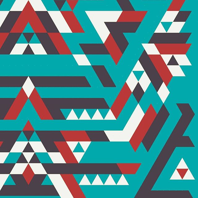 Working on something new... #wip #geometric #pattern #printmaking