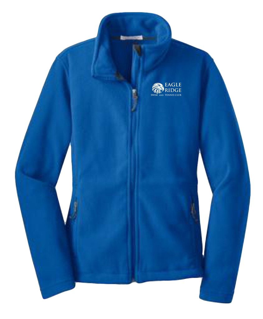 Ladies Port Authority Fleece  $39.00   This exceptionally soft, mid-weight 13.8 ounce fleece jacket will keep you warm during everyday excursions and it's offered at an unbeatable price. Bungee cord zipper pulls and front zippered pockets. Open hem with draw cord and toggles for adjustability.