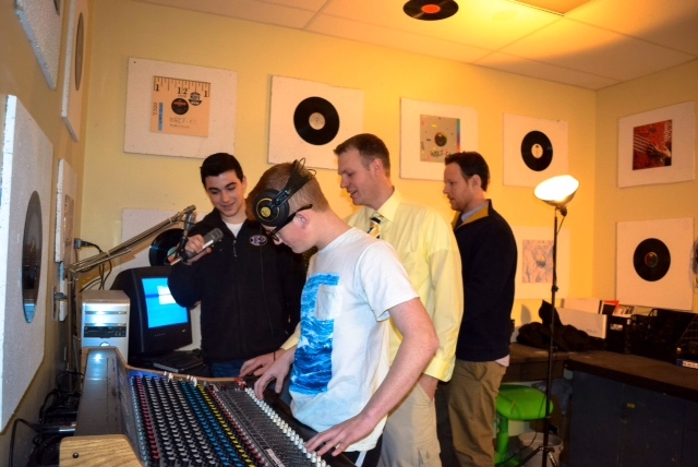 Southold High School launches a Student Operated Radio Station!
