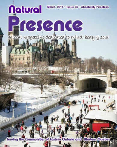 Cover of Natural Presence Magazine! March 2014
