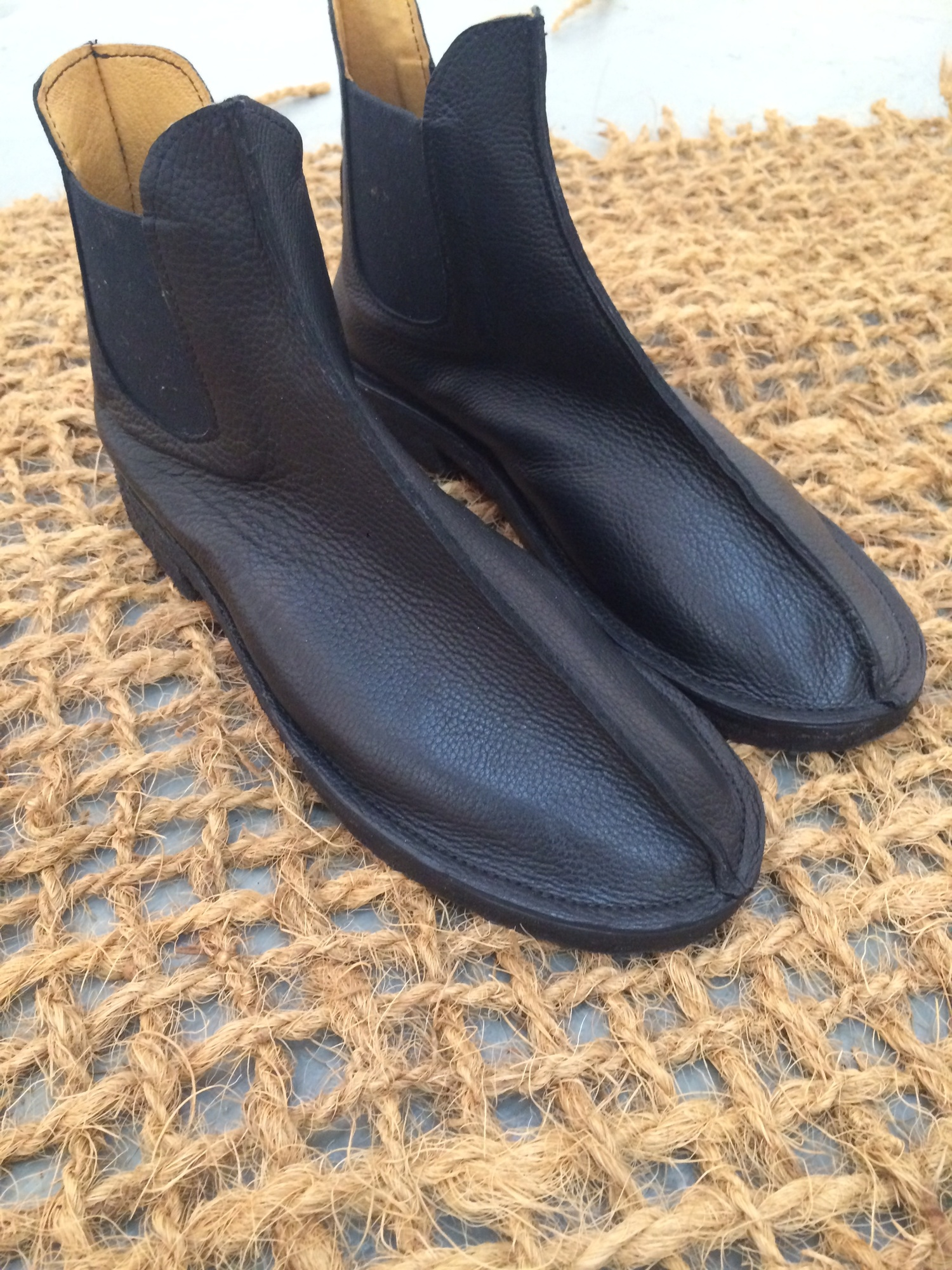 Chelsea Boot with Crepe sole and Heel — Emily Spray