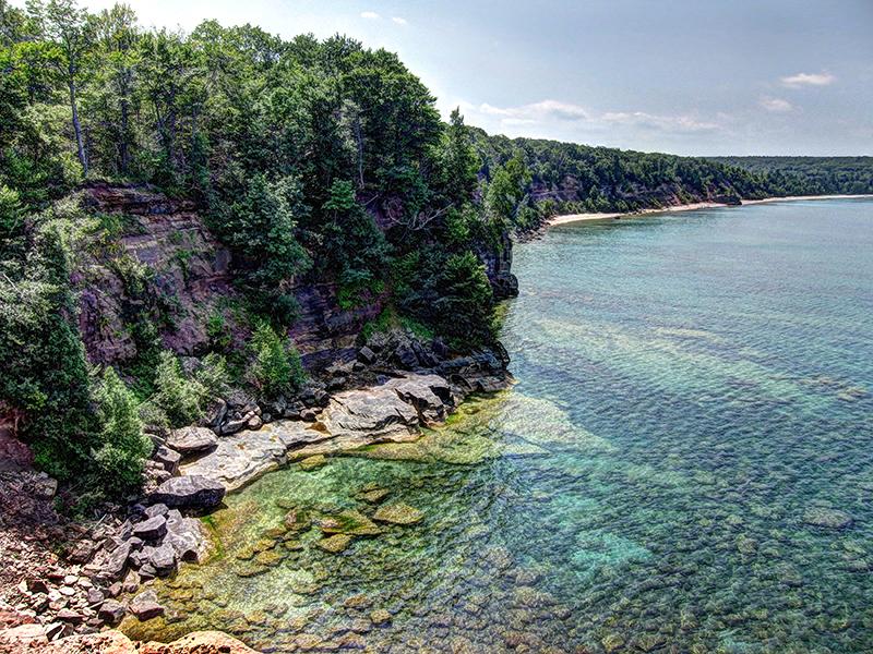 Splendid shorelines