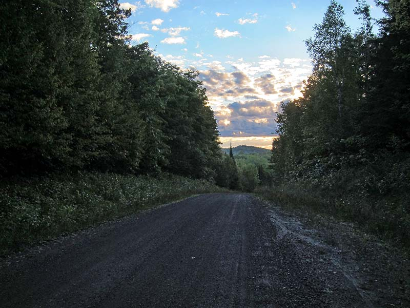 Forest Service Road 400-daybreak