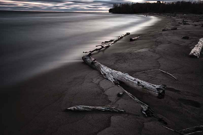 Lake Superior Shoreline, Ontonagon County, MI