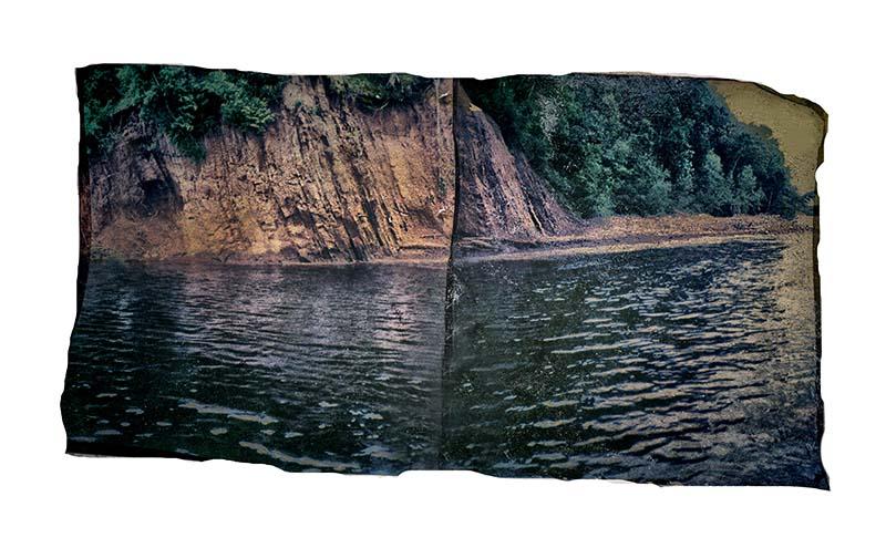Polaroid SX-70 Emulsion Lift