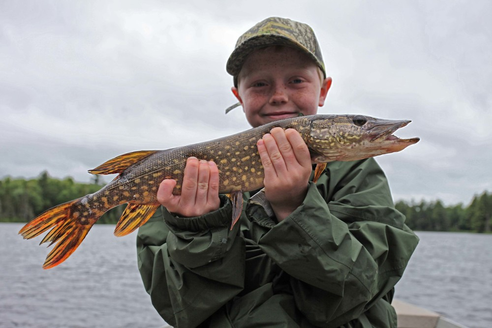 Aiden's First Northern Pike