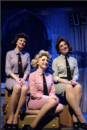 Sisters of Swing, Costume Design by Tracey Herman, Bristol Valley Theatre, Naples New York,