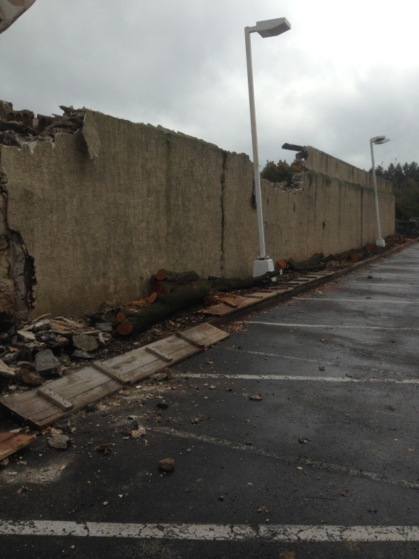 Roasemont - Existing Wall Demolition