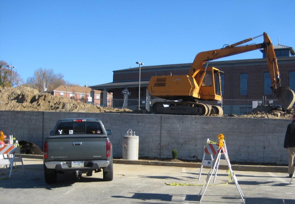 Rosemont - New Wall Backfill
