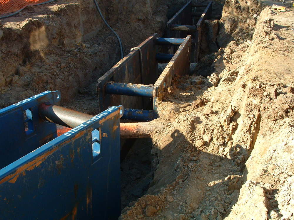 Comcast Aston - Pipe Work @ Gas Pipe Lines