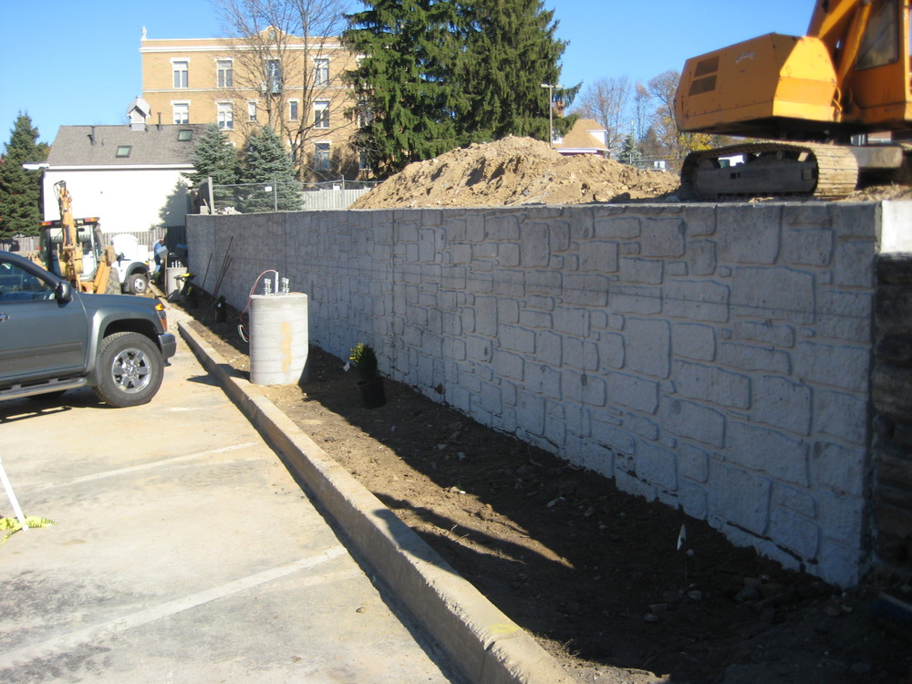 Rosemont - Finished Wall Backfill