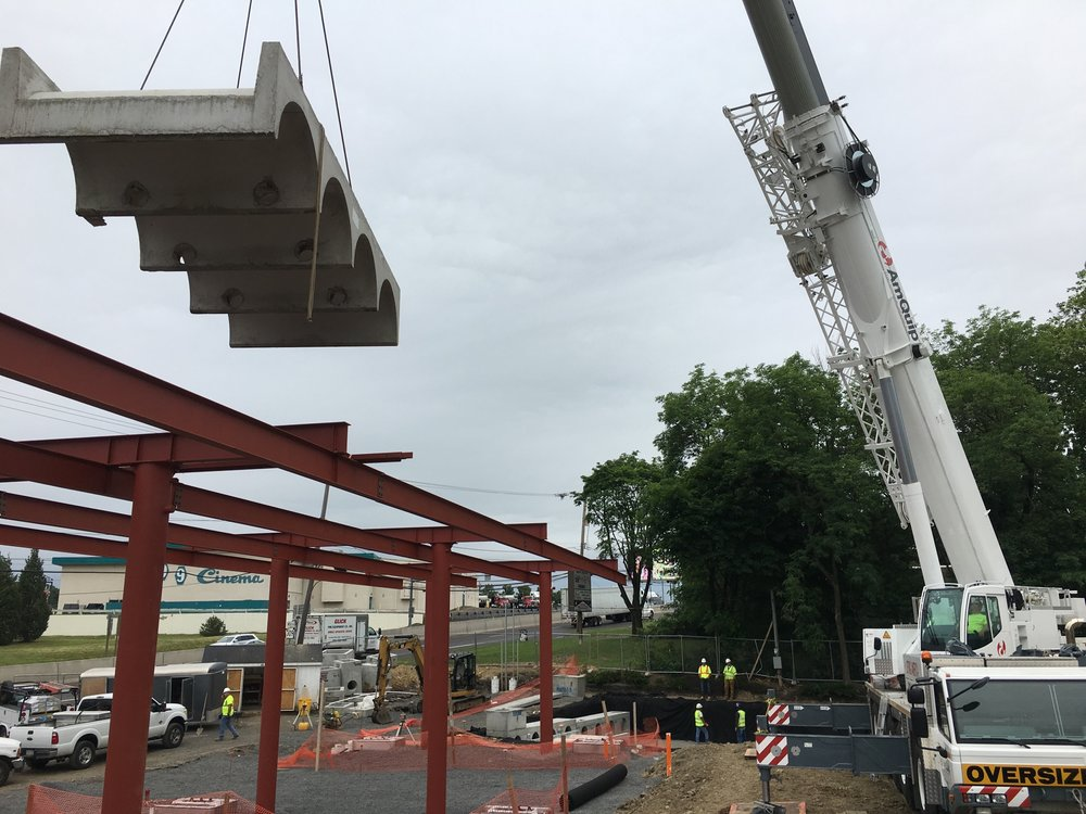 Sunoco North Wales - StormTech Lift Over Canopy