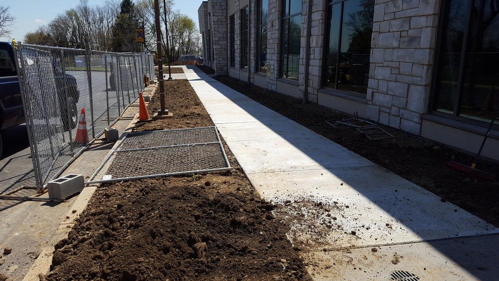 Neumann - Finished Sidewalk