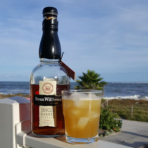 A beauty of a bourbon cocktail.