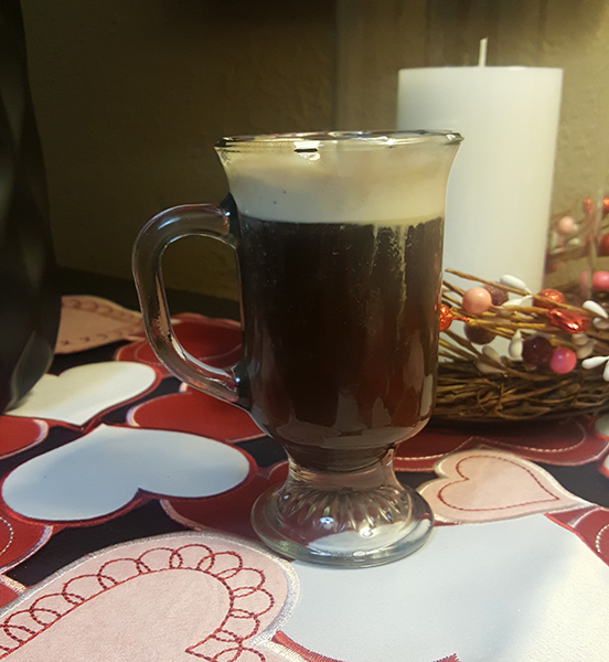Irish Coffee with The Sexton Irish whiskey