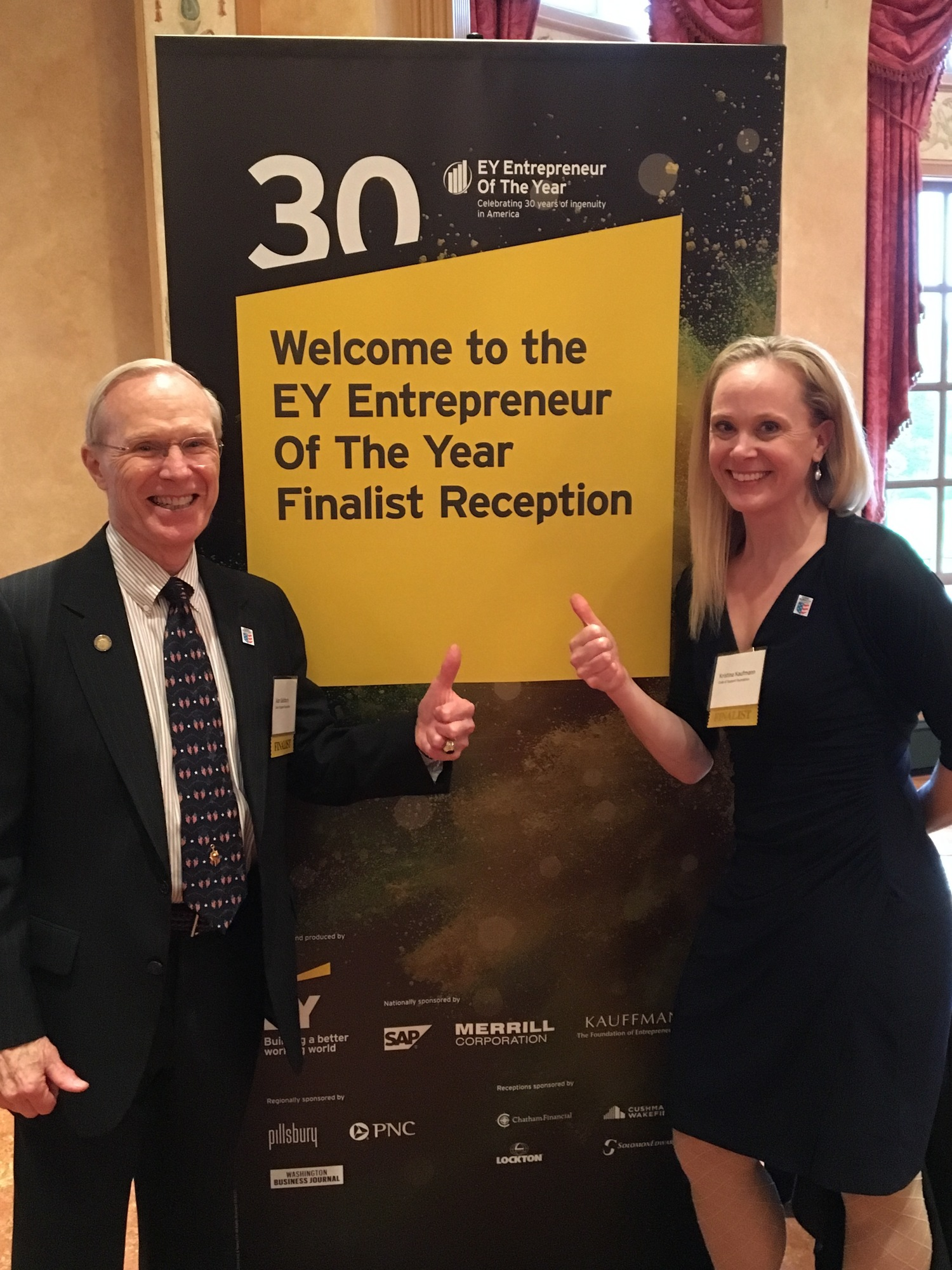 55d7a6c5e54 EY Announces MG Alan B. Salisbury and Kristina Kaufmann as EY Entrepreneur  Of The Year™ Mid-Atlantic 2016 Finalists — The Code of Support Foundation