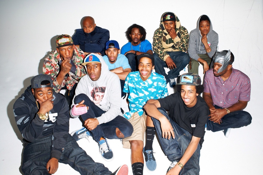 Earl is a central figure of the whole Odd Future crew along with Tyler the Creator, his mentor