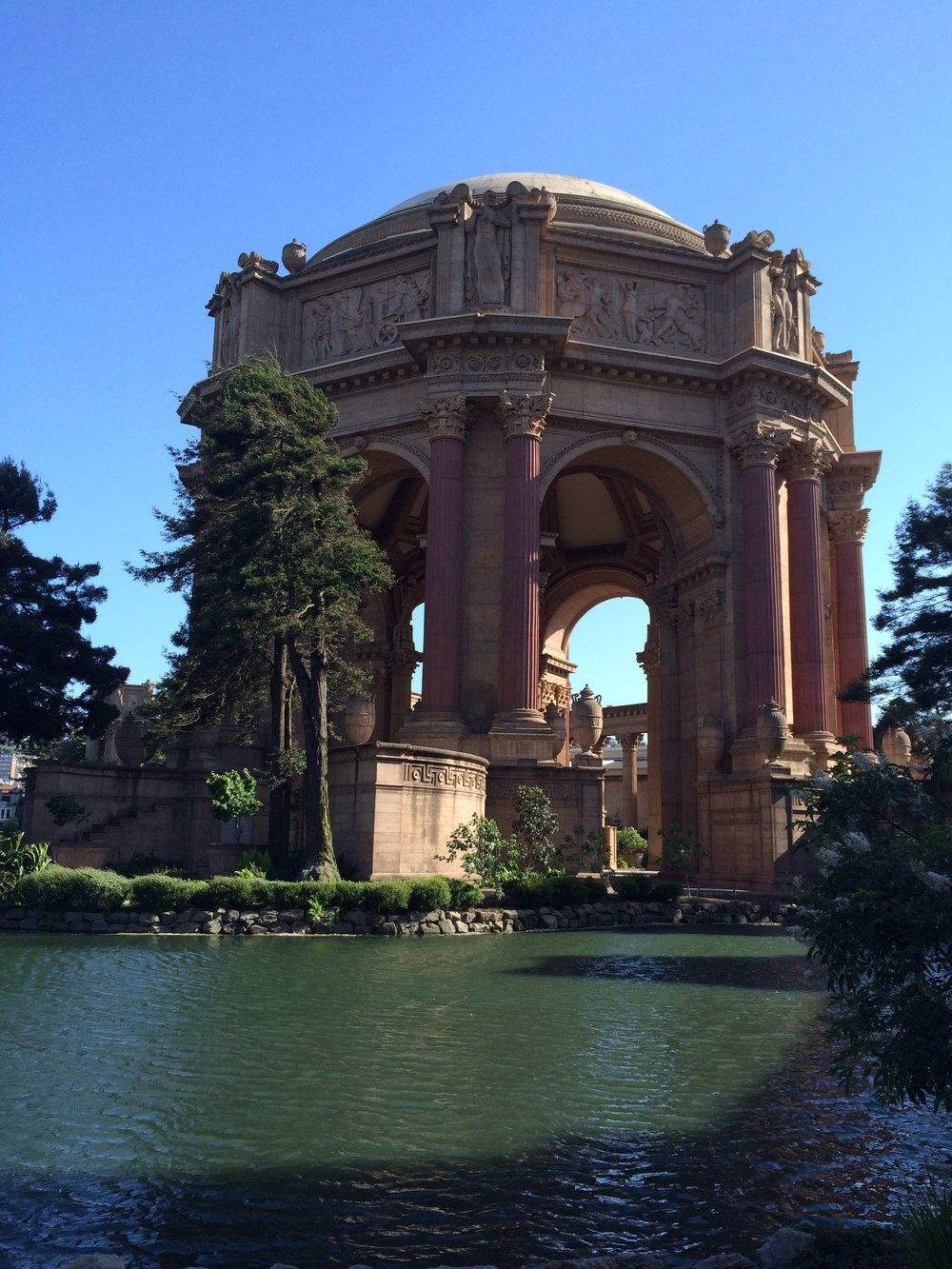 The Rotunda at the Palace of Fine Arts