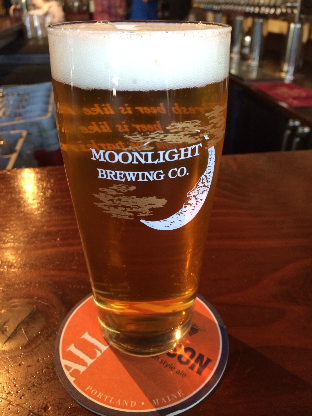 Reality Check - a Bohemian Pilsner by Moonlight Brewing from Santa Rosa, California