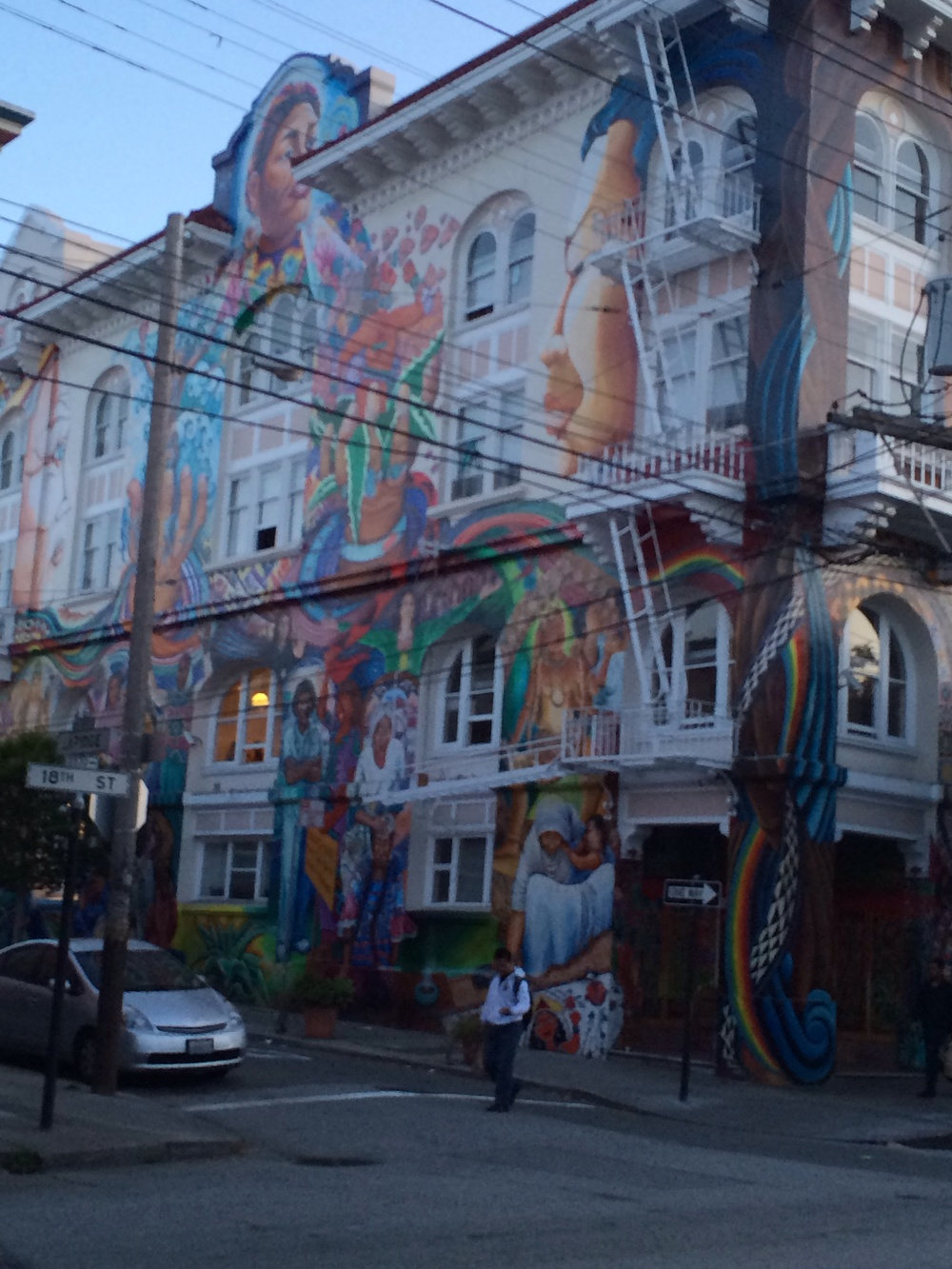 Another dope mural I passed on my epic stroll of San Francisco
