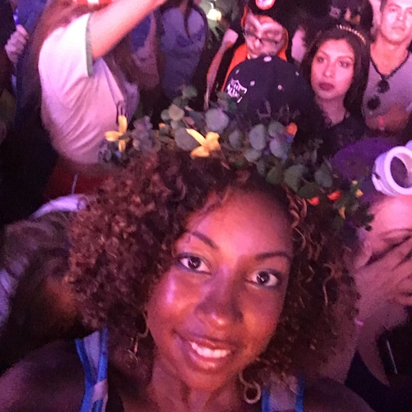 Here I am watching Flying Lotus at a music festival.  It is always a great time!