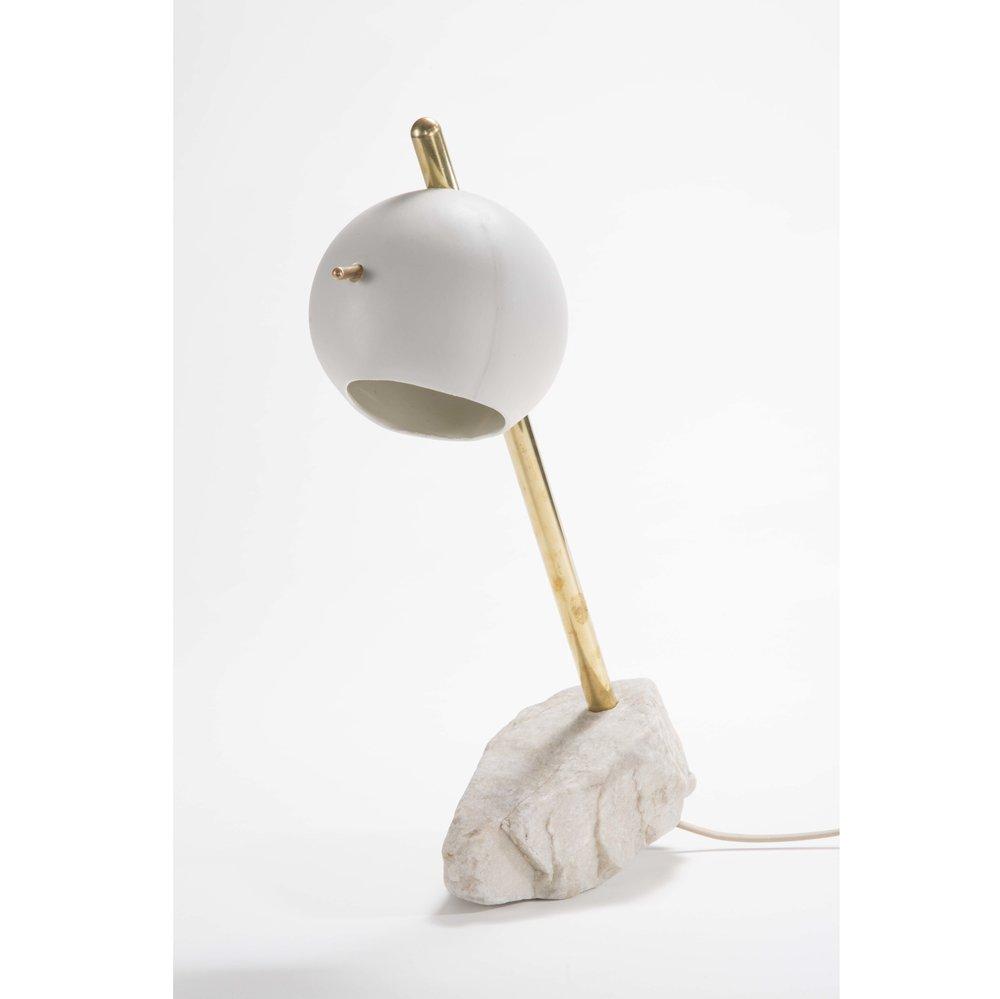 Stone Lamp -