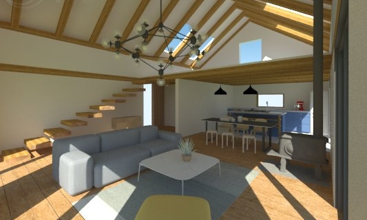 cabin - Interior Design